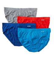 2xist Essentials 100% Cotton Bikini Briefs - 4 Pack 20432
