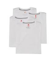 Hanes ComfortBlend Slim Fit Crew T-Shirts - 4 Pack CST14