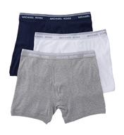 Michael Kors Essentials 100% Cotton Boxer Briefs - 3 Pack KU21009