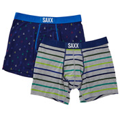 Saxx Apparel Vibe Modern Fit Boxer - 2 Pack SXPP2V