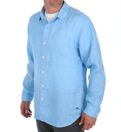 Tommy Bahama Sea Glass Breezer Long Sleeve Linen Shirt TR310622