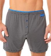 2xist Barcode Modal Stretch Knit Boxer 42507
